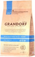 Корм для кошек Grandorf Adult Sensitive White Fish/Potato 0.4 kg