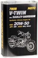 Моторное масло Mannol 7808 V-Twin for Harley-Davidson 1L