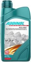 Моторное масло Addinol Eco Light 5W-40 1л