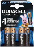 Фото - Аккумулятор / батарейка Duracell  4xAA Turbo Max MX1500