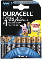 Фото - Аккумулятор / батарейка Duracell  8xAAA Turbo Max MX2400