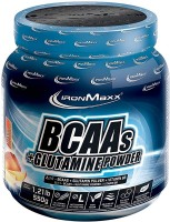 Фото - Аминокислоты IronMaxx BCAAs plus Glutamine 550 g