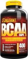 Фото - Аминокислоты Mutant BCAA 400 cap