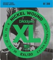 Фото - Струны DAddario XL Nickel Wound 8-38