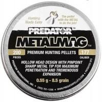 Кулі й патрони JSB Predator Metalmag 4.5 mm 0.55 g 200 pcs