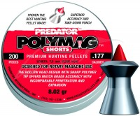 Пули и патроны JSB Polymag Shorts 4.5 mm 0.52 g 200 pcs