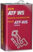 Фото - Трансмиссионное масло Mannol ATF WS Automatic Special 4л