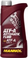 Фото - Трансмиссионное масло Mannol ATF-A Automatic Fluid 1л