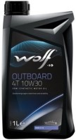 Моторное масло WOLF Outboard 4T 10W-30 1 л