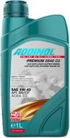 Моторное масло Addinol Premium 0540 C3 5W-40 1л