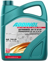 Фото - Трансмиссионное масло Addinol Getriebeol GH 75W-90 4л