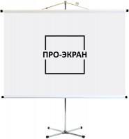Проекционный экран Pro-Ekran Shtativ 160x120