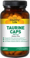 Фото - Аминокислоты Country Life Taurine Caps 100 cap