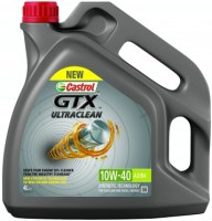 Моторное масло Castrol GTX Ultraclean 10W-40 A3/B4 4л
