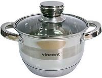 Кастрюля Vincent VC-3170-24 6.1л