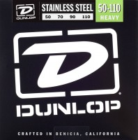 Струны Dunlop Stainless Steel Bass Heavy 50-110