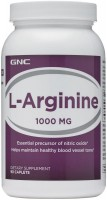 Фото - Амінокислоти GNC L-Arginine 1000 180 cap