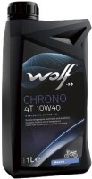Моторное масло WOLF Chrono 4T 10W-40 1л