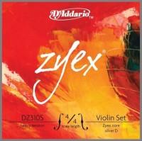 Струны DAddario ZYEX/S Violin 4/4 Medium