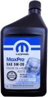 Моторное масло Mopar MaxPro 5W-20 1л