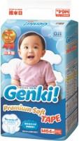 Подгузники Genki Premium Soft Tape M / 64 pcs