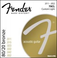Фото - Струны Fender 70CL