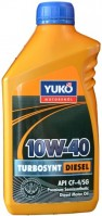 Моторное масло Yukoil TurboSynt Diesel 10W-40 1L