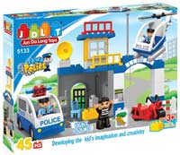 Конструктор JDLT Town Police 5133