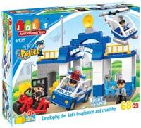 Конструктор JDLT Town Police 5135