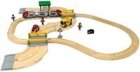 Фото - Автотрек / железная дорога BRIO Rail and Road Travel Set 33209