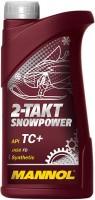 Моторное масло Mannol 2-Takt Snowpower 1л
