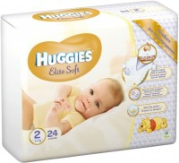 Подгузники Huggies Elite Soft 2 / 24 pcs