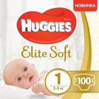 Подгузники Huggies Elite Soft 1 / 100 pcs