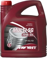 Моторное масло Favorit Multi SG 20W-50 5л