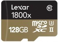 Карта памяти Lexar Professional 1800x microSDXC UHS-II  128ГБ