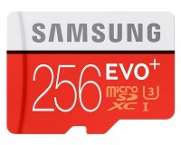 Карта памяти Samsung EVO Plus microSDXC UHS-I U3 256Gb