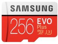 Карта памяти Samsung EVO Plus 100 Mb/s microSDXC UHS-I U3 256Gb