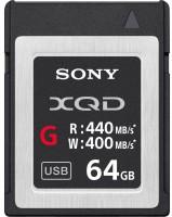 Карта памяти Sony XQD G Series 64Gb