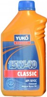 Моторное масло Yukoil Classic 15W-40 1L
