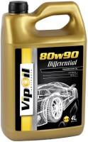 Фото - Трансмиссионное масло VipOil Differential 80W-90 4л