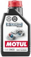 Моторное масло Motul Hybrid 0W-20 1л