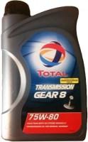 Трансмиссионное масло Total Transmission Gear 8 75W-80 2L