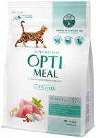 Корм для кошек Optimeal Adult Sterilised with Turkey 0.3 kg