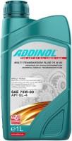 Трансмиссионное масло Addinol Multi Transmission Fluid 75W-80 1L