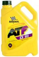 Фото - Трансмиссионное масло Bardahl ATF III 5л