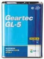 Фото - Трансмиссионное масло Kixx Geartec GL-5 85W-140 4л