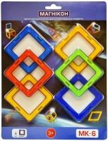 Конструктор Magnikon Square 6 Pieces MK-6