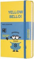 Блокнот Moleskine Minions Ruled Pocket Yellow