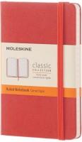 Блокнот Moleskine Ruled Notebook Pocket Orange