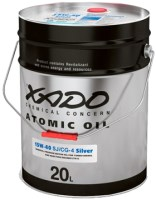 Моторное масло XADO Atomic Oil 15W-40 SJ/CG-4 Silver 20л